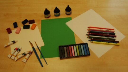 Welke creatieve materialen gebruik je?